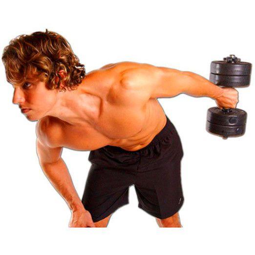 Golds Gym 40 Lb Vinyl Dumbbell Set Adjustable Weight Dumbbells Set of 2 Cheap…