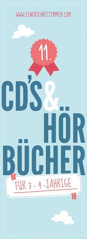 Empfehlungen und Tipps für Hörbücher und CDs: Welche Hörbücher, Hörspiele und CDs sind ideal für 3- bis 4-Jährige. Unsere Tipps und Empfehlungen für den 3. Geburtstag oder den 4. Geburtstag oder für Weihnachten.