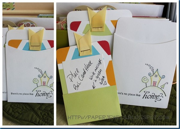 Art Great idea for designer or realtor cards-and-paper-crafts