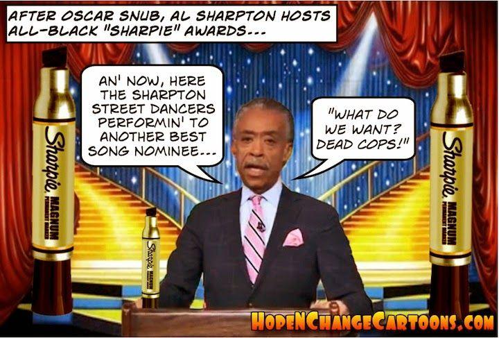 "SHARPTON'S ""DEAD COPS"" SONG : BASH BARACK"