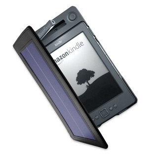 Solar Powered Kindle cover
