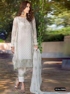 Bollywood Salwar Kameez Indian Designer Ethnic Party Wear Punjabi Suit Shalwar