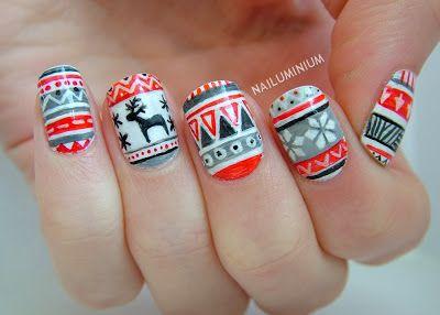Nailuminium: Christmas #nail #nails #nailart