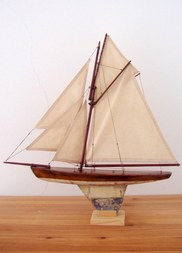 Petit voilier de bassin b tar pinterest b tar - Voilier de bassin ancien nanterre ...