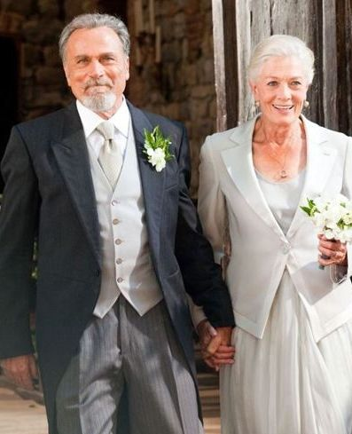 Vanessa Redgrave & Franco Nero...fell in love in 1967, later married others, then came back together and married in 2006. Love endures.