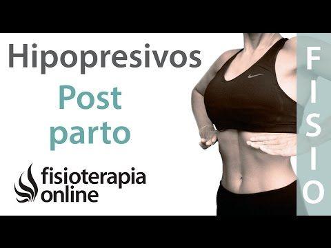 Hipopresivos en el postparto - Recupera tu abdomen después del embarazo - YouTube