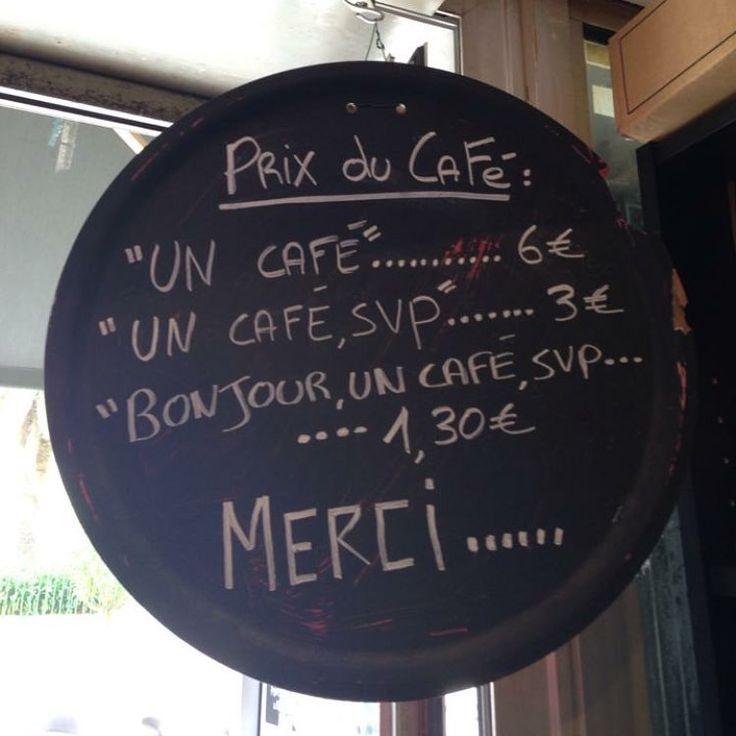 """«En Corse Ils ont tout compris ! Je vais mettre ça en place à la Pharma ! donc remplacer """"café"""" par Doliprane® et autres  et on dit citrate DE…»"""