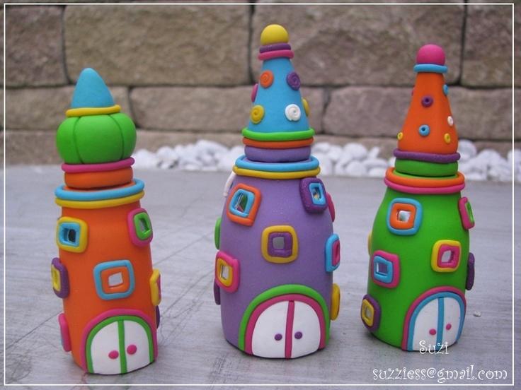 Bottles of Hope - Houses