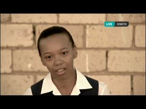 FNB You Can Help - Live Broadcast, a message from South Africa's children - a campaigned challenged by the ANC as being an attack on government.