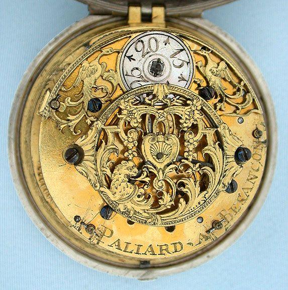 Bogoff Antique Pocket Watches Paliard Single Handed Alarm - Bogoff Antique Pocket Watch # 6473