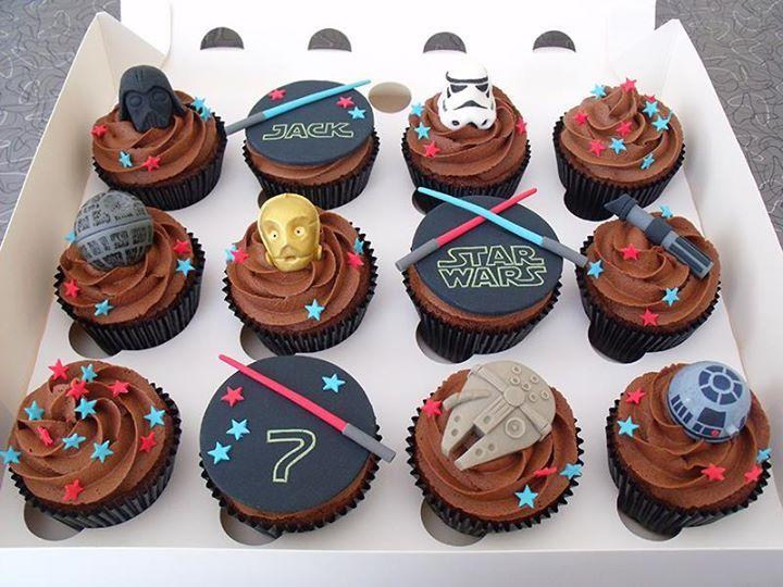 The 25 best Star wars cupcakes ideas on Pinterest Star wars