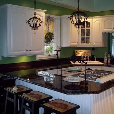 53 best images about kitchen revamp ideas on pinterest for Painted countertop ideas