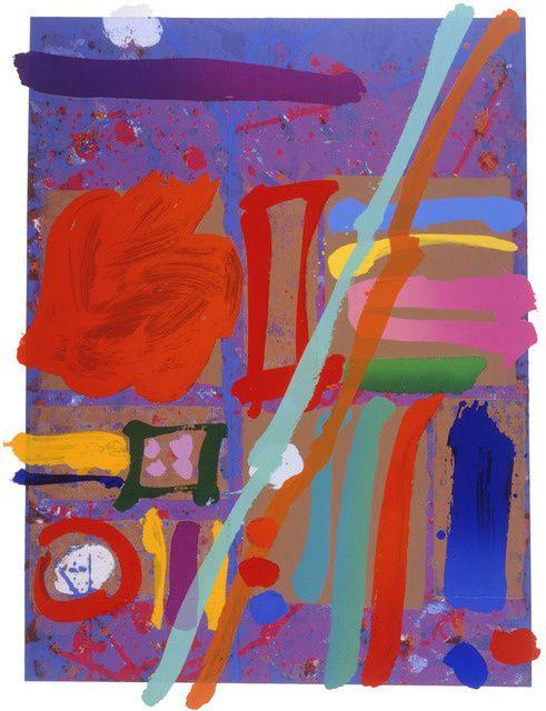 Albert Irvin RA   Kepler I (1998)   Artsy