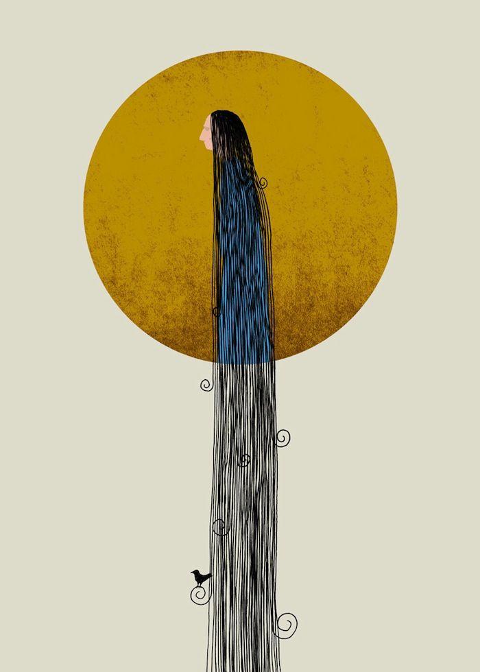 IlPost - Acersecomic - Una persona i cui capelli non sono mai stati tagliati  [A person whose hair has never been cut]