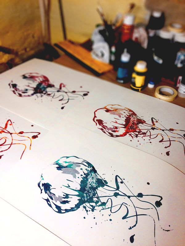 Jelly's on Behance