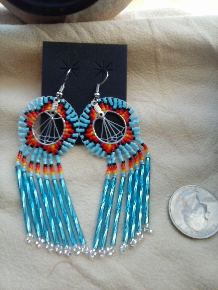 e59cc0e1f PDF Beaded Earrings Tutorial Russian Leaf Native American