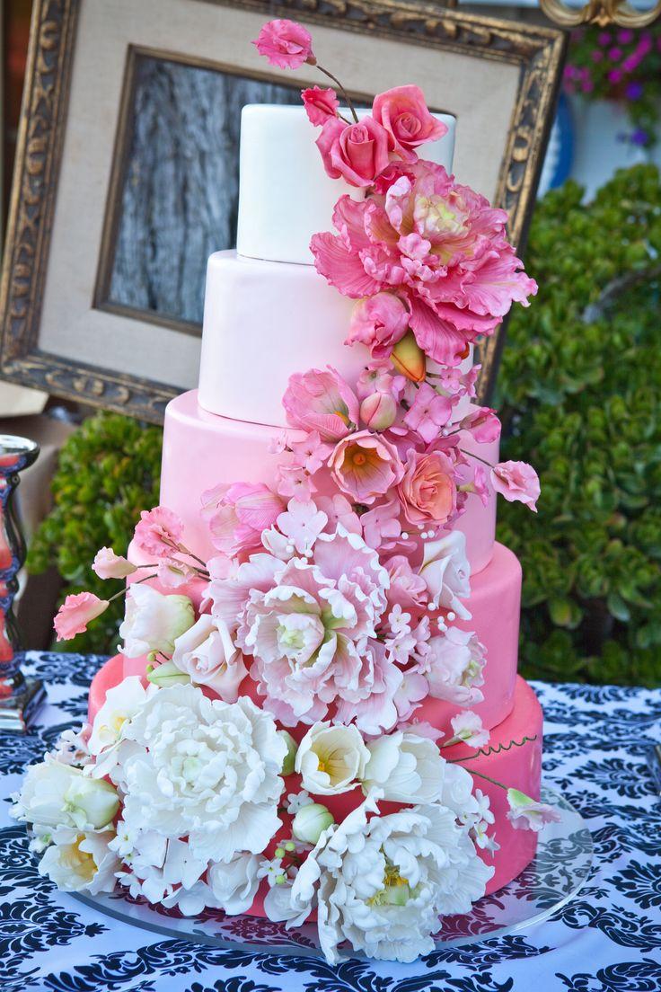 What a Cake!  Wedding by Gianna & Company More: http://www.whitesatinweddingshow.com/gianna-provenzano1.html