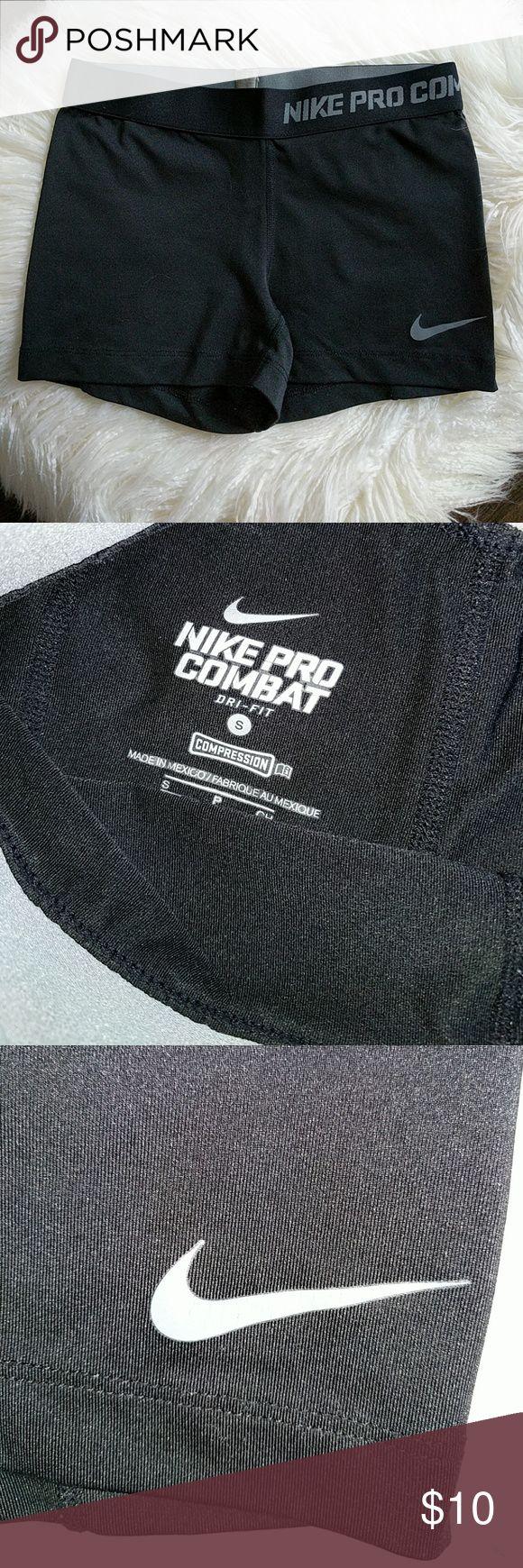 Nike pro combat shorts Size small. Great condition. Black Nike Shorts