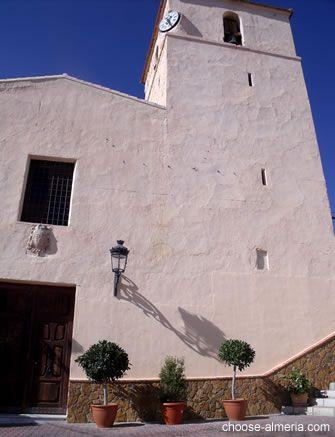 Bedar church - Iglesia de la Virgen de la Cabeza - Plaza Santa Maria