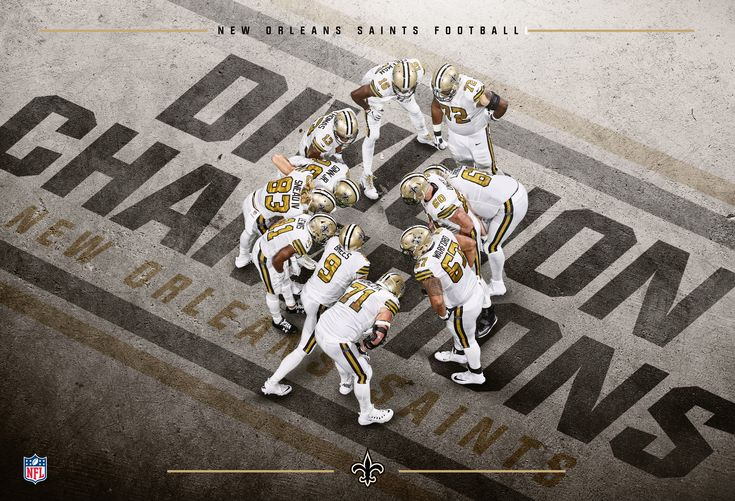 "Check out this @Behance project: ""New Orleans Saints - NFC South Champions"" https://www.behance.net/gallery/60408377/New-Orleans-Saints-NFC-South-Champions"
