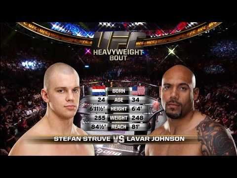 Fight Night Rotterdam Free Fight: Stefan Struve vs Lavar Johnson