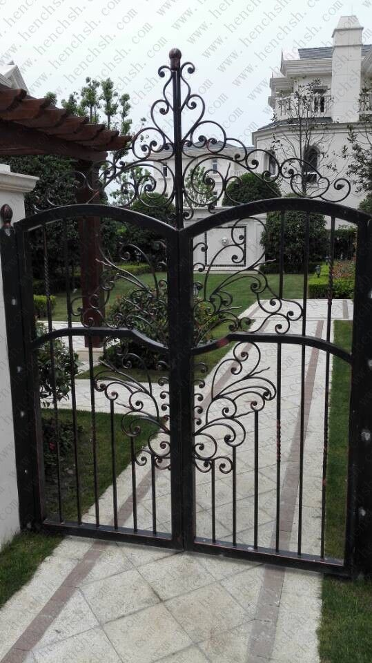 Cheap gate supplies, Buy Quality gate transistor directly from China gate gas Suppliers:  Top villa hand custom wrought iron gates wrought iron gate v-ig8       ShanghaiManufacturerWroughtiro