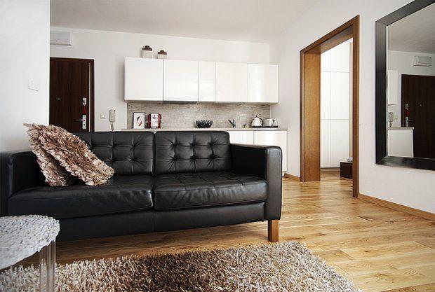 Studio projektowe disain.it (http://disain.it) przedstawia swoją kolejną realizację: 32 metrowe mieszkanie w Poznaniu.