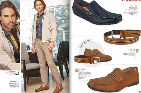 Calzado cklass catalogo caballeros OI 2015