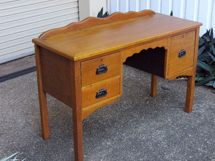 Style style style silky oak desk other furniture gumtree australia cairns city whitfield