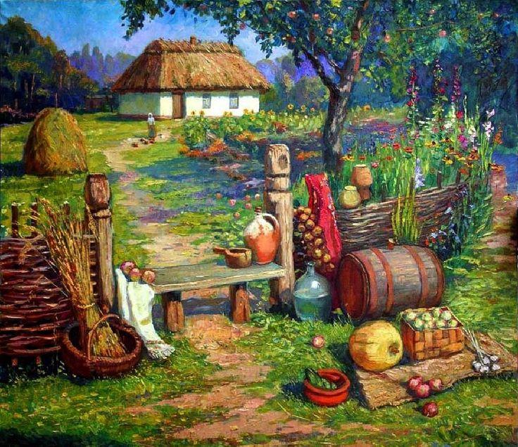 Рисунки прикольные пейзаж
