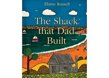 Shack That Dad Built Book: When Elaine Russell was five, her dad built the family a shack just outside the Aboriginal mission at La Perouse in Sydney. Elaine illustrates what life was like for an indigenous kid on the urban fringes.