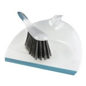 The up & up Dustpan & Brush Set is perfect for quick clean ups in the kitchen, bathroom and around the house. Flexible rubber lip hugs the surface to catch fine dirt and debris. Brush has soft bristles with a soft grip and snaps into the dustpan handle for easy storage.<br><br>Quality needs priced to please. With up & up™ your satisfaction is 100% guaranteed or your money back.