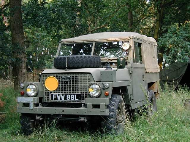 Land Rover Lightweight.