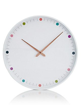 Multispot Wall Clock | M&S