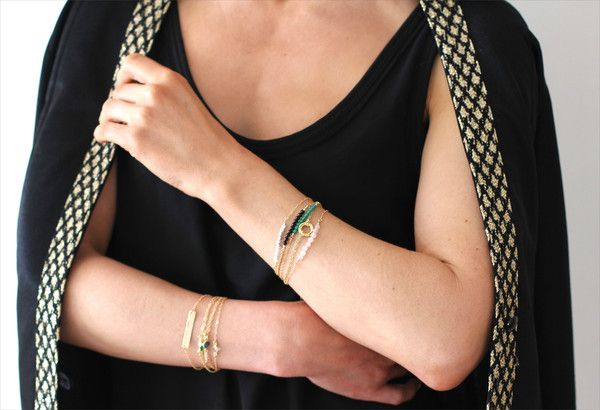Wrap your wrists in colour: a new blog post
