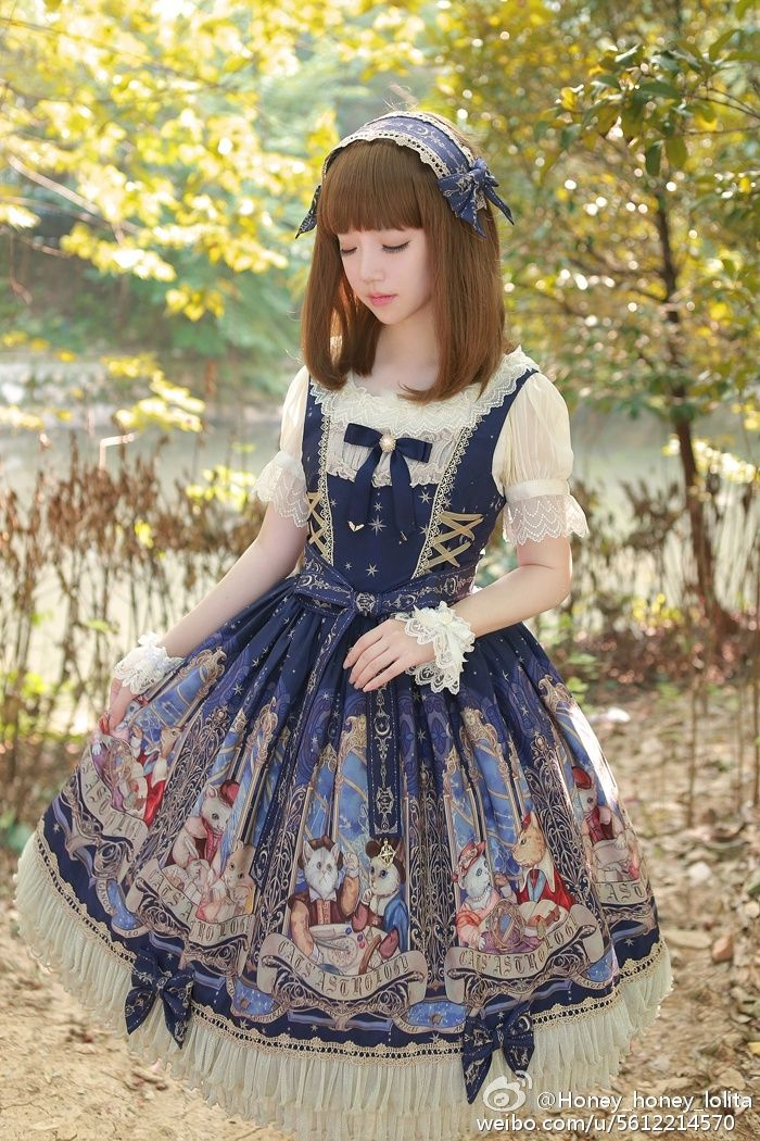 Cute Kawaii Lolita Dress / Headband / Lolita Girl / Fashion Photography / Cosplay  // ♥ More at: https://www.pinterest.com/lDarkWonderland/