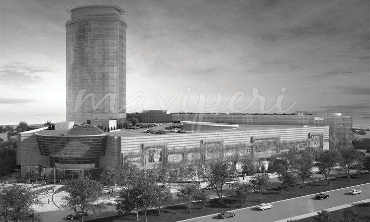 2010 yılında başlanan proje 2014 yılında Alışveriş Merkezinin açılışı ile tamamlanacaktır. Alışveriş Merkezi proje sürecine önce Ofis binaları ve Katlı Otopark Binası daha sonra ise 5 Yıldızlı bir otel eklenmiştir. Otel Mimari ve iç mimari çizimleri ile konsept çalışması, işletmeci Rotana grubunun standartlarına uygun olarak tasarlanmıştır. http://maviperimimarlik.com.tr - Mimarlık Ankara