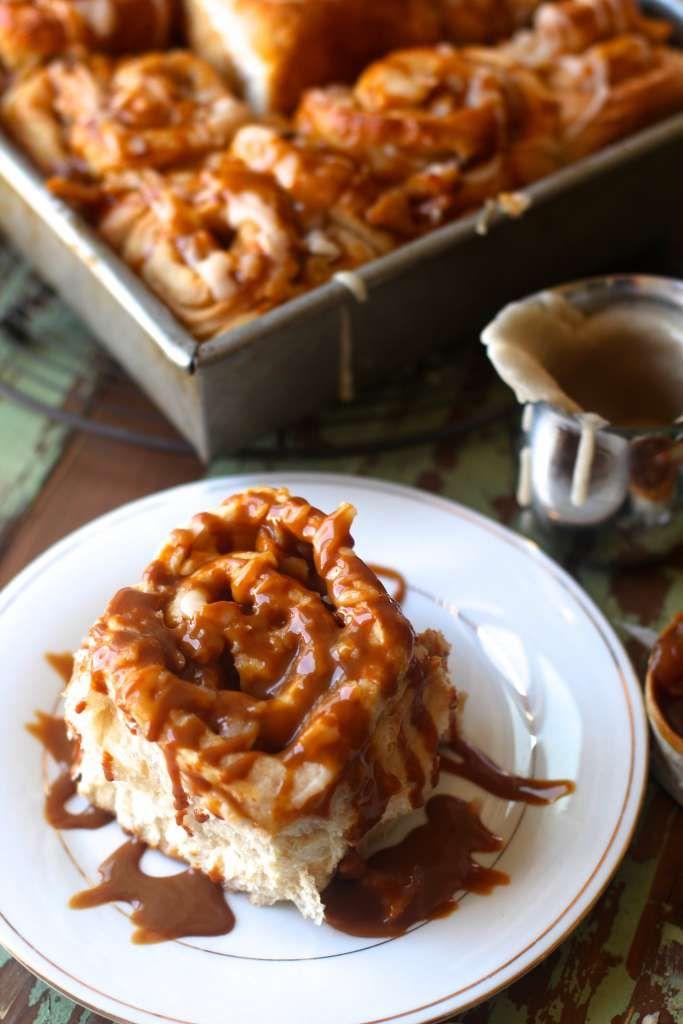 Caramel Apple Rolls