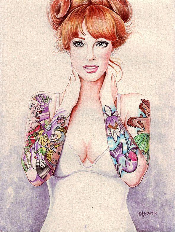 this isn't happiness™ (Tatto you, Luis Portillo), Peteski