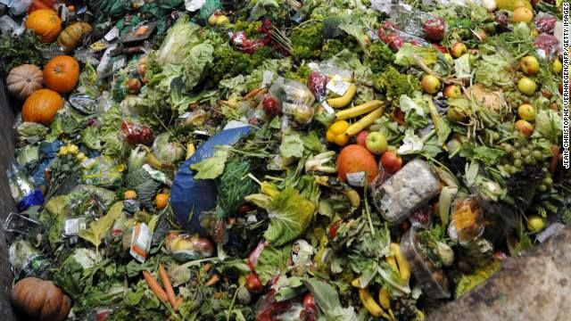 Laura Kinch Not my photo but the amount of food waste that ends in landfill which could be used as compost is pretty scary to think about
