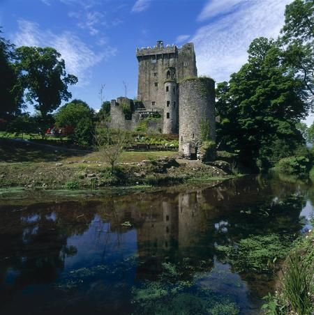 I waited in line for an hour to kiss the Blarney Stone at the Blarney Castle in Ireland after a billion others have already done so.....