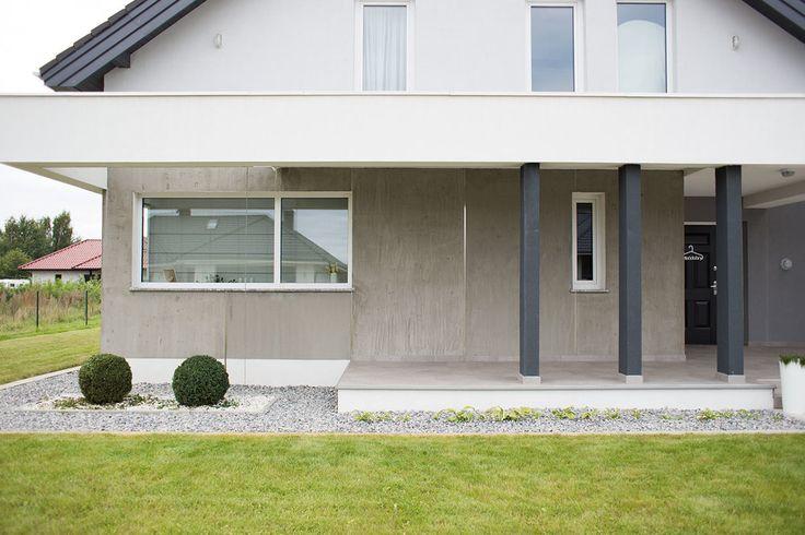 płytki heksagonalne imitujące beton NA wejściU do domu — H O U S E L O V E S