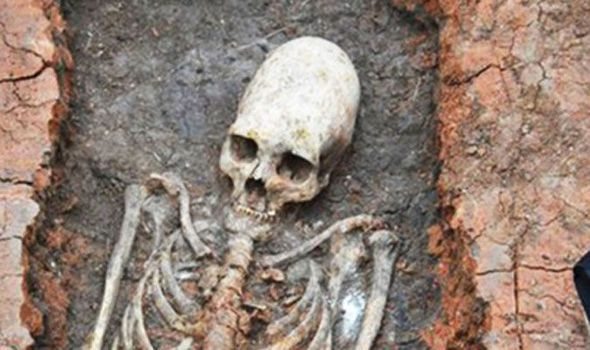 WATCH: Has an alien skeleton been unearthed at Russia's Stonehenge? | Science | News | Daily Express