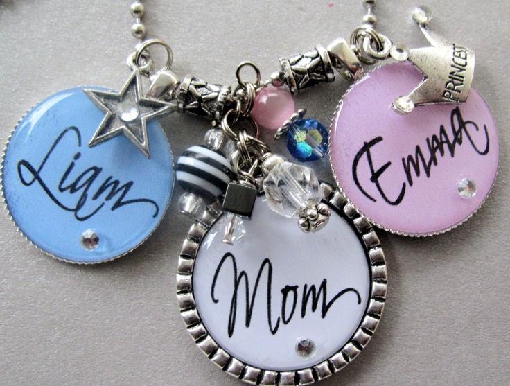 Mother's Pendant necklace: Mothers Pendants, Pendants Necklaces, Stars, Names, Princesses, Accessories