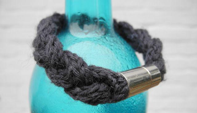 Mélimélo: Knitted bracelet | Strickarmband