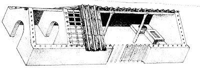 Imitando as cabanas primitivas emcontramos em Khirokitia (Chipre),casas com base circular em pedra calcária ,suportando paredes de lama seca ou tijolo cru,isto 6000 anos AC. . Terminam em cúpula ,fazendo lembrar as cabanas circulares. NOVAS ...Um pouco do saber para todos: A HABITAÇÃO....ao longo dos tempos