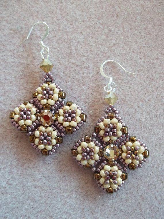 Meridian Earrings (Large--maybe make as pendant.)