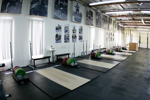 Crossfit gym layout http thletics the