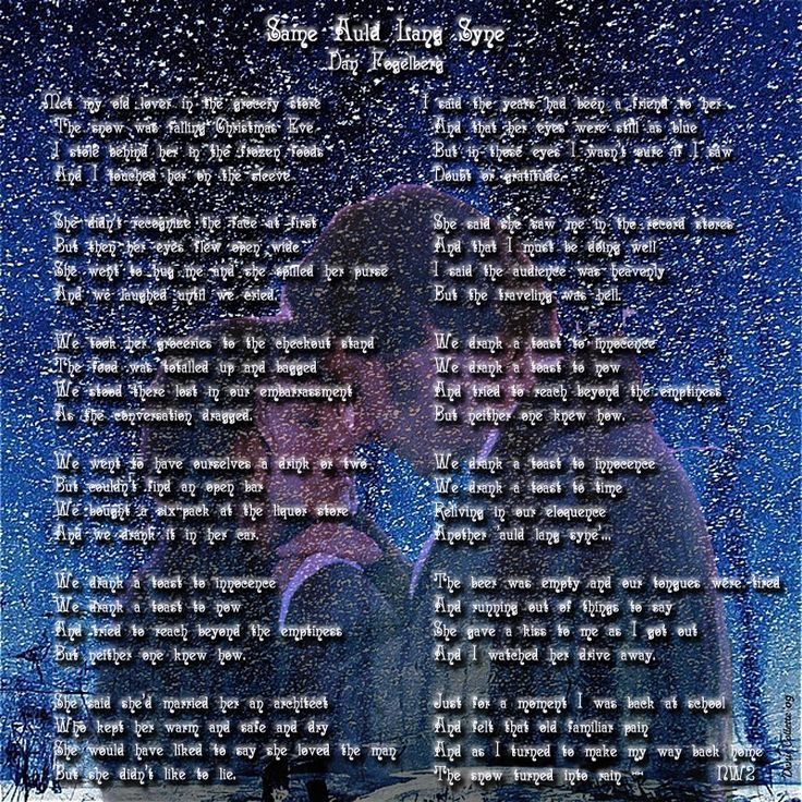 Lyric same old lang syne lyrics : 24 best Our Playlist... images on Pinterest | Songs, Music lyrics ...