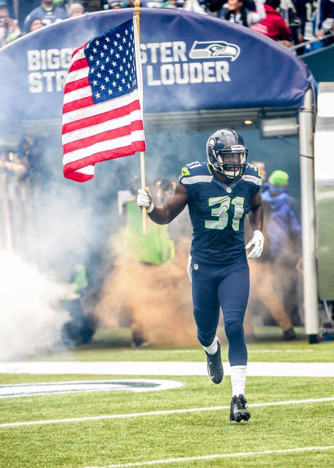 This gives me chills!! Seattle Seahawks - Kam Chancellor